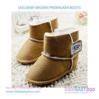 harga UGG BABY BROWN PREWALKER BOOTS Tokopedia.com