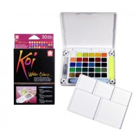 SAKURA KOI WATERCOLOR 30 / WATER COLORS / CAT AIR 30 WARNA