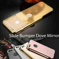 Slide Bumper Case Mirror Oppo Neo 7 A33T / Oppo F1 Plus R9 R9+