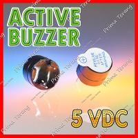 Active Buzzer Aktif 5V Speaker Alarm Sound Arduino