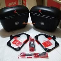 harga Box Givi E21 N + Bracket Sbl2000 Original Givi Tokopedia.com
