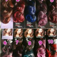 hair clip ombre curly/WIG/KERITING/RAMBUT PALSU