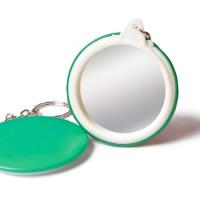 Cetak Sablon Gantungan Kunci / Ganci Bahan Pin Cermin 4.4 cm