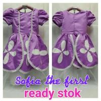 SOFIA DRESS / KOSTUM SOFIA / BAJU ANAK SOFIA THE FIRST