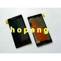 Sony Xperia J St26i Lcd + Touchscreen + Frame Fullset