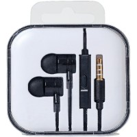 Bcare Earphone In-Ear Earbud Stereo Headset - Hitam