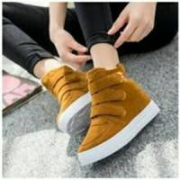 harga Sepatu Boot Wanita/Cewek Korea Style Model Prepet jual dg Harga Murah Tokopedia.com