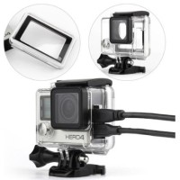Protective Case Side Hole For GoPro 4 - Black