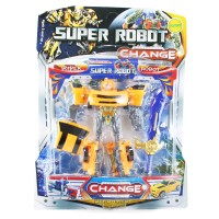 Otoys Super Robot Transformers Action Figure Bumblebee PA-332 KUNING
