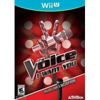 Wii U The Voice Bundle with Microphone