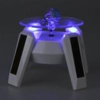 harga Display lampu putar 4 LED pajangan etalase HP / GPS / HT / batu cincin Tokopedia.com