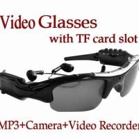 Spy Kacamata Glasses camera Mp3 Video Recorder Hitam