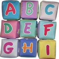 Mainan edukatif / edukasi anak bayi balita, KUbus Abjad unik empuk`2