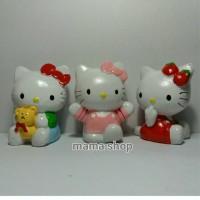 Toper Figure Patung Boneka Kue Hello Kitty Hiasan Cake Topper Ultah