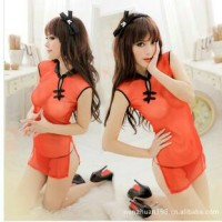 Sexy Lingerie Babydoll Cheongsam G String CHR80