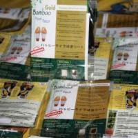 Koyo Kaki Bamboo GOLD Foot Patch Detox Premium