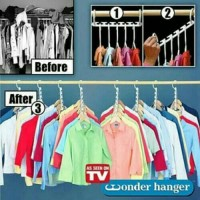 Hanger Baju / Magic Hanger / Wonder Hanger / Gantungan Baju