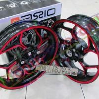 harga Velg Lebar Axio New Megapro Cnc Warna Merah Gold|Velg Cb150r|mega pro Tokopedia.com