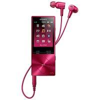 Sony High Resolution Audio Player Walkman NW-A26 - Bordeaux Pink