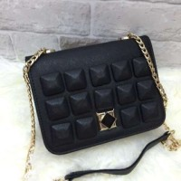 TAS WANITA CHARLES AND KEITH SLING STUD - SEMI PREMIUM (NEW ARRIVAL)