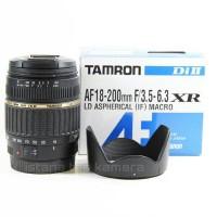 harga LENSA TELE ZOOM TAMRON AF 18-200 mm f/3.5-6.3 XR MACRO CANON / NIKON Tokopedia.com
