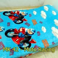 Selimut Bulu Halus Motor Racing Uk 150x200 - MK 42