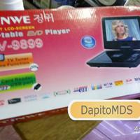 "DVD PLAYER PORTABLE TINWE 10.2"" INCH DV-9899 10.2 TFT LCD SCREEN"