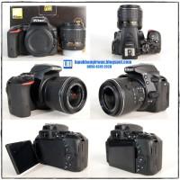 Nikon D5500 SC 3rb + KIT AF-S 18-55mm VR II Built In WIFI !! [LBI Jogja]