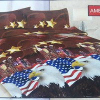 SPREI BONITA AMERICAN EAGLE 3D UK.180X200