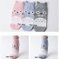 Kaos Kaki Impor Import Korea Korean Socks Totoro Grosir Kartun