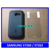harga Silikon Case Samsung Galaxy Star Plus Pro S7260 Dual Sim S7262 Hitam Gratis Anti Gores Tokopedia.com