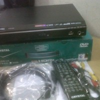 Dvd Player HDMI Crystal DVD-635 (Bonus Mic + Kabel HDMI)