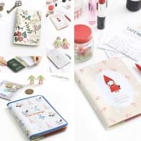buku passport cute korean sampul dompet Id Pasport style cover case