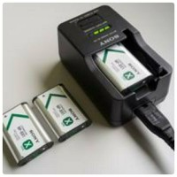 CHARGER SONY BC-TRX FOR NP-BX1/BN1/BG1/BD1/BK1/FT1/FR1/FE1
