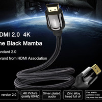 [Original] Vention 2m HDMI 2.0 High Speed 24k Gold Plated Video Cable