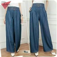 dark levisa jumbo kulot/celana panjang/celana jeans/fashion /promo