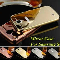mirror case bumper metal for samsung galaxy S4,MIRROR S4