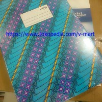 Mirage Buku Folio F4 100 Lembar Batik HC 100 F / Hard Cover Book