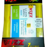 Baterai/Battery Double Power Vizz Samsung Galaxy Mega 6.3 i9200
