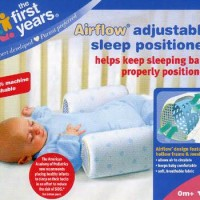 First Years Adjustable Sleep Positioner Airflow