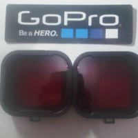 Polar Pro Aqua Cube Snap-on Dive Housing Glass Filter For GoPro 4/3 +