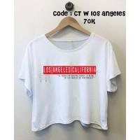 Crop Tee Los Angeles