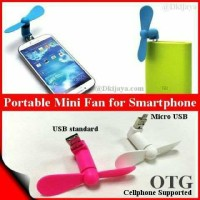 Jual Kipas Angin OTG mikro USB 2 in 1 For Android Murah