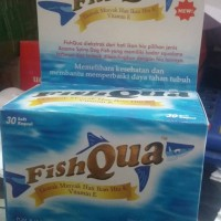 FISHQUA EKSTRAK MINYAK IKAN HIU & VIT E ISI 30'S