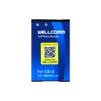 harga Baterai/battery Double Ic Wellcomm Blackberry Cs-2 Gemini 8520/9300 Tokopedia.com