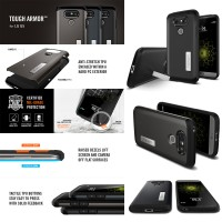 Spigen Tough Armor Case LG G5 / G5 SE Dual Layer PC + TPU Defender
