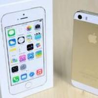 IPHONE 5S GOLD (32GB) GARANSI PLATINUM 1 TAHUN