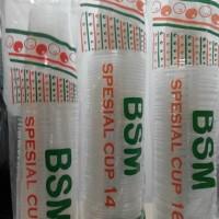 Gelas Plastik BSM 12, 14, 16 Oz