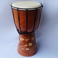 alat musik jimbe, alat musik pukul, drum, mainan anak, souvenir (T
