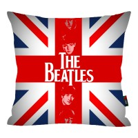 Bantal Sofa - The Beatles 1, Design bisa request / custom